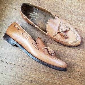 ec7e97740b974 Crockett & Jones · Crockett & Jones Langham Tassel Leather Dress Shoe